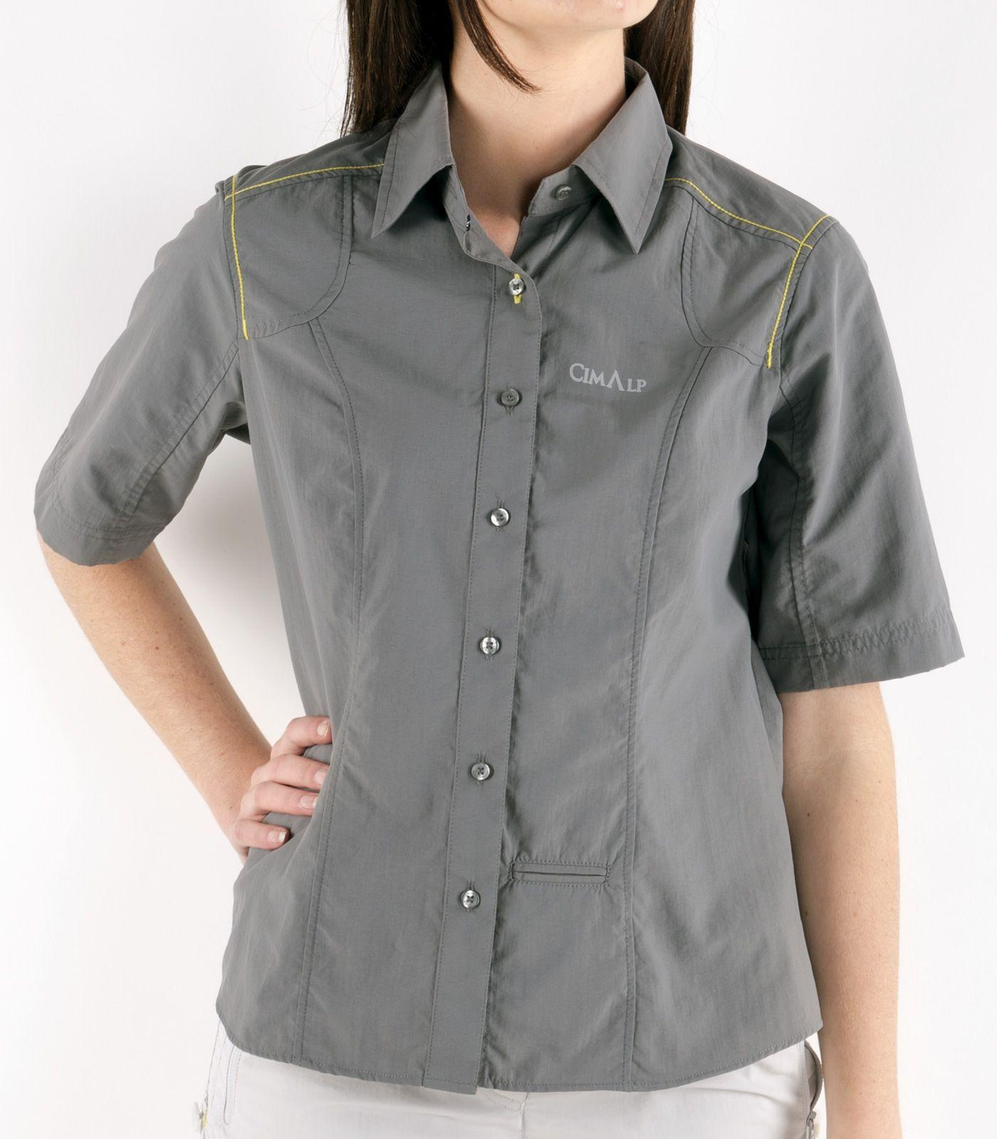 chemise femme anti moustiques anna anthracite 2 v tements de voyages. Black Bedroom Furniture Sets. Home Design Ideas