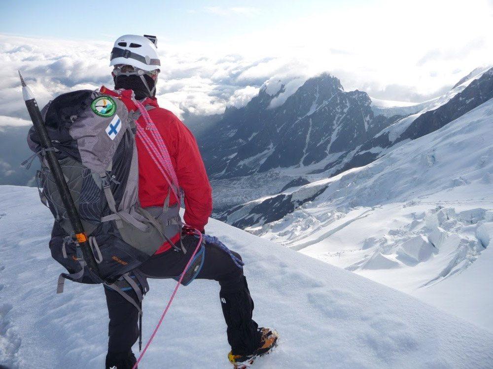 Chamonix-vu-depuis-le-refuge-du-goûter-ascension-du-Mont-Blanc
