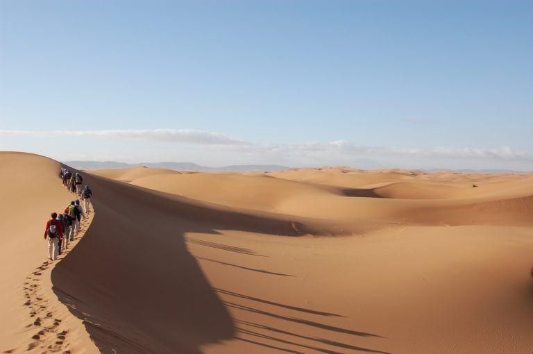 Trek dans le désert Marocain : les vêtements adéquats